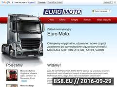 Miniaturka domeny www.euromoto.lukow.pl
