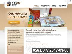 Miniaturka domeny www.europak-center.com.pl