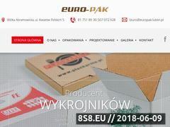 Miniaturka europak.lublin.pl (Opakowania kartonowe na zamówienie)