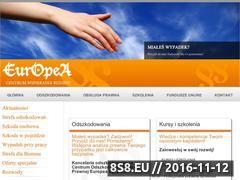 Miniaturka domeny www.europea.pl