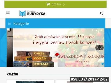 Zrzut strony Księgarnia internetowa