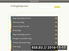 Miniaturka domeny www.evebagshop.com