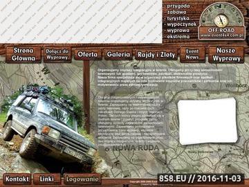Zrzut strony Imprezy integracyjne w terenie   Event 4x4