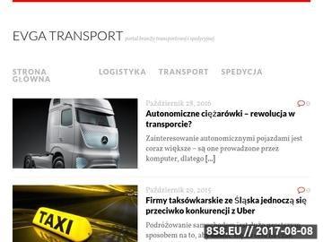 Zrzut strony Transport Miedzynarodowy, Transport Samochodowy, Transport Krakow