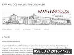 Miniaturka domeny ewa.krudos.pl