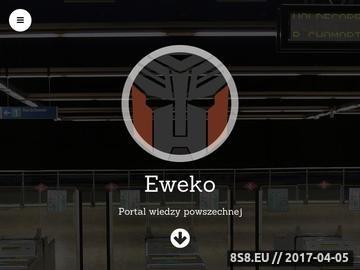 Zrzut strony Eweko - eko opał, spływy kajakowe, jazdy konne