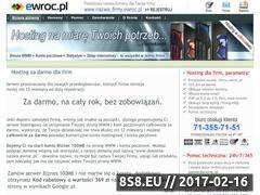 Miniaturka domeny www.ewroc.pl