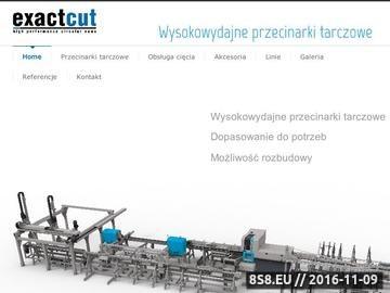 Zrzut strony Piły tarczowe i przecinarki ExactCut