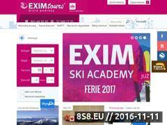 Miniaturka domeny www.eximtours.pl