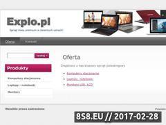 Miniaturka domeny www.explo.pl