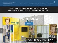 Miniaturka www.expoextreme.com.pl (Ścianki i stoiska konferencyjne)