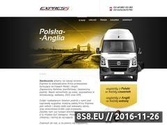 Miniaturka domeny express-przewozy.pl