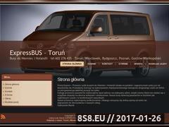 Miniaturka domeny www.exspres-przewozosob.pl