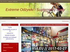 Miniaturka domeny extreme-odzywki-i-suplementy-diety.tradoro.pl