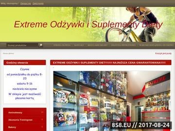 Zrzut strony Extereme Odżywki Kraków