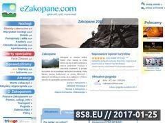 Miniaturka domeny www.ezakopane.com
