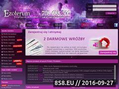 Miniaturka ezoterum.pl (Horoskop - astrologia profesjonalnie dla każdego)