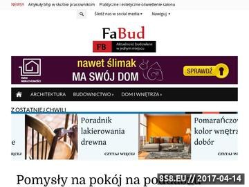 Zrzut strony Fa-Bud firma budowlana