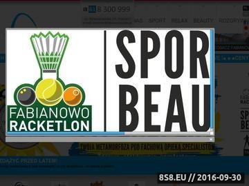 Zrzut strony Tenis Poznań
