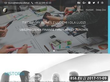 Zrzut strony Grupa Void System - Fabryka Ofert