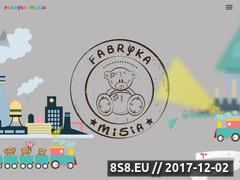 Miniaturka fabrykamisia.pl (Centrum zabaw dla dzieci Białystok)