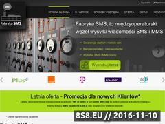Miniaturka domeny www.fabrykasms.pl