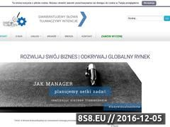 Miniaturka domeny www.fabrykatlumaczen.pl