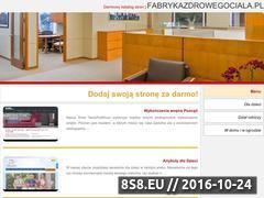 Miniaturka domeny fabrykazdrowegociala.pl