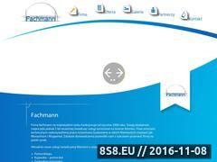 Miniaturka domeny www.fachmann.org.pl