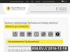 Miniaturka domeny www.fachmistrz.pl