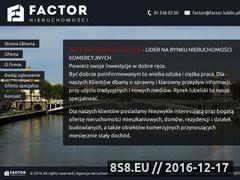 Miniaturka domeny factor.lublin.pl