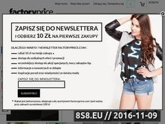 Miniaturka Odzież damska - sklep internetowy (factoryprice.pl)