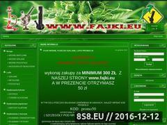 Miniaturka domeny www.fajki.eu