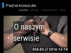 Miniaturka domeny fajnekoszule.eu