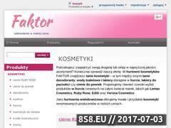 Miniaturka faktor.krakow.pl (Sklep z kosmetykami)