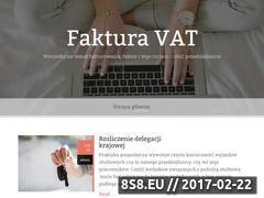 Miniaturka <strong>blog</strong> finansowy (fakturavat.org.pl)