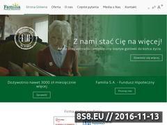 Miniaturka domeny familiasa.pl