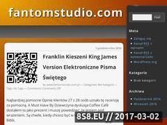 Miniaturka domeny fantomstudio.com.pl