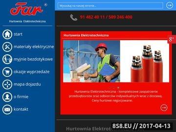 Zrzut strony Materiały elektroinstalacyjne