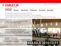 Miniaturka domeny www.farley20.com.pl
