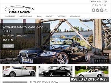 Zrzut strony Fast-cars.pl - wyścigi uliczne