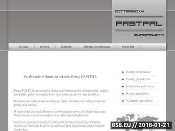 Zrzut strony Europalety, Palety używane, Palety nowe, Gitterboxy
