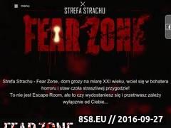 Miniaturka Rozrywka polegająca na przeżyciu horroru na żywo (www.fearzone.pl)