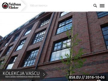Zrzut strony Bruk klinkierowy, płytki klinkierowe, płytki elewacyjne - Feldhaus.pl