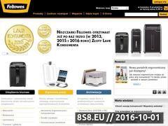 Miniaturka domeny www.fellowes.pl