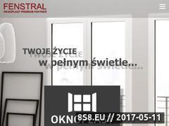 Miniaturka domeny www.fenstral.pl