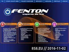 Miniaturka domeny fenton.pl