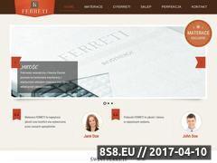 Miniaturka domeny www.ferreti.pl
