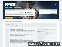 Miniaturka ffbb.pl (Darmowe porady z dziedziny - kulturystyka)