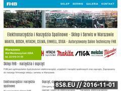 Miniaturka domeny fhb-sklep.pl